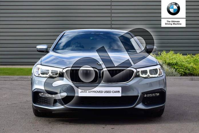 Image sixteen of this 2018 BMW 5 Series Diesel Saloon 520d M Sport 4dr Auto in Bluestone at Listers Boston (BMW)