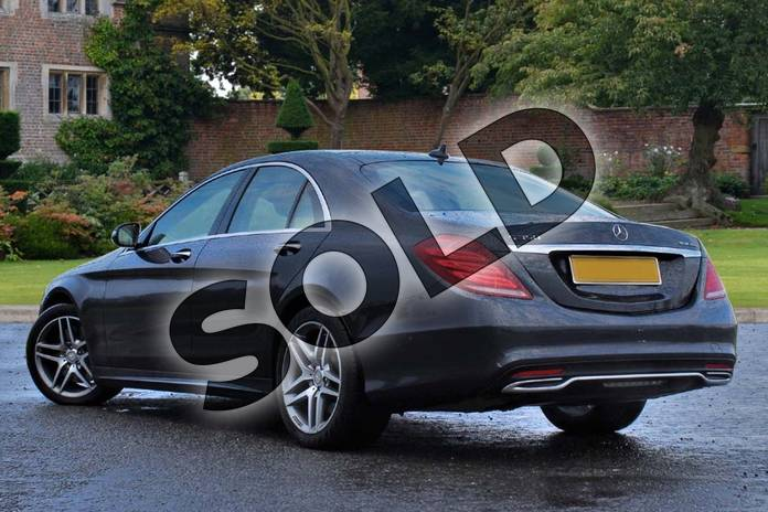 Image two of this 2015 Mercedes-Benz S Class Diesel Saloon S350 BlueTEC AMG Line 4dr Auto in Anthracite blue metallic at Mercedes-Benz of Lincoln