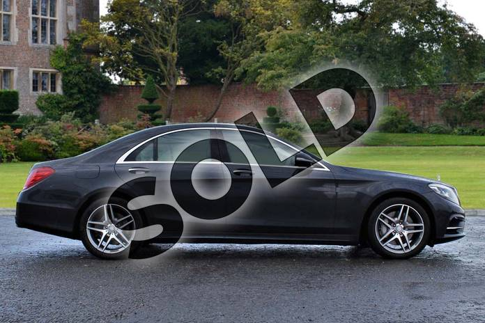 Image four of this 2015 Mercedes-Benz S Class Diesel Saloon S350 BlueTEC AMG Line 4dr Auto in Anthracite blue metallic at Mercedes-Benz of Lincoln