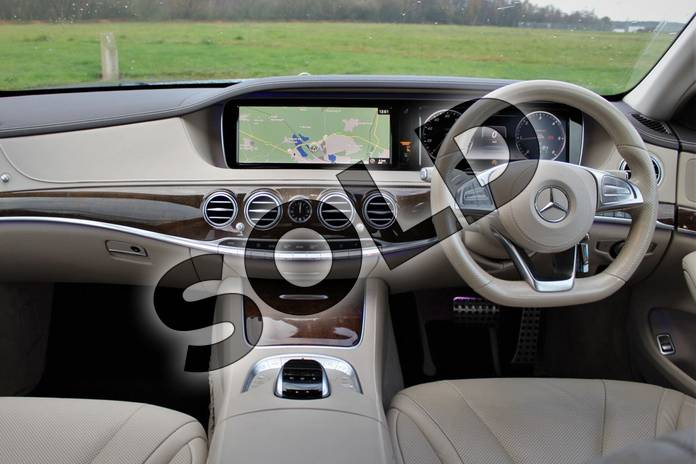 Image seven of this 2015 Mercedes-Benz S Class Diesel Saloon S350 BlueTEC AMG Line 4dr Auto in Anthracite blue metallic at Mercedes-Benz of Lincoln