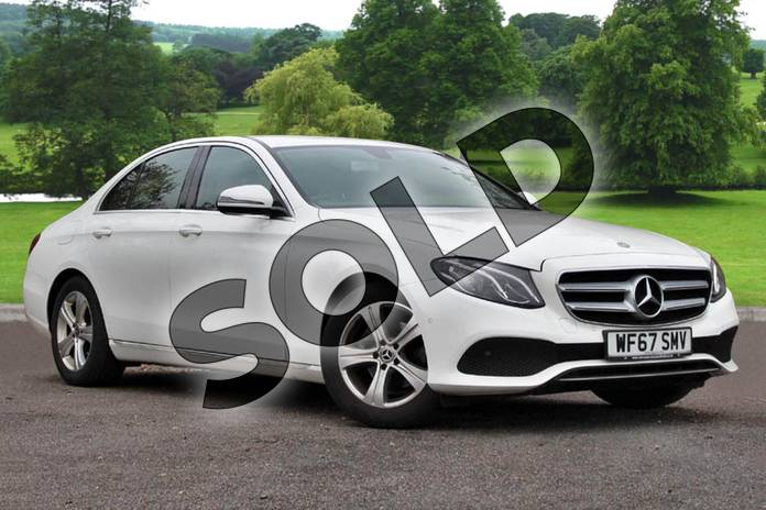 Picture of Mercedes-Benz E Class E220d SE 4dr 9G-Tronic in Polar White