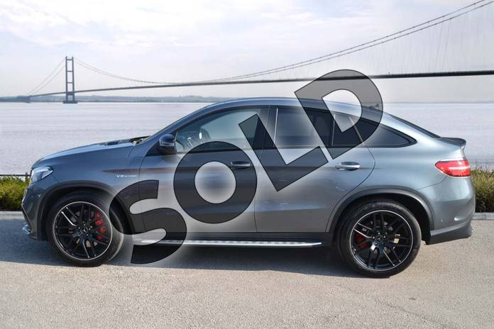Image four of this 2019 Mercedes-Benz GLE AMG Coupe GLE 63 S 4Matic Night Edition 5dr 7G-Tronic in selenite grey metallic at Mercedes-Benz of Hull