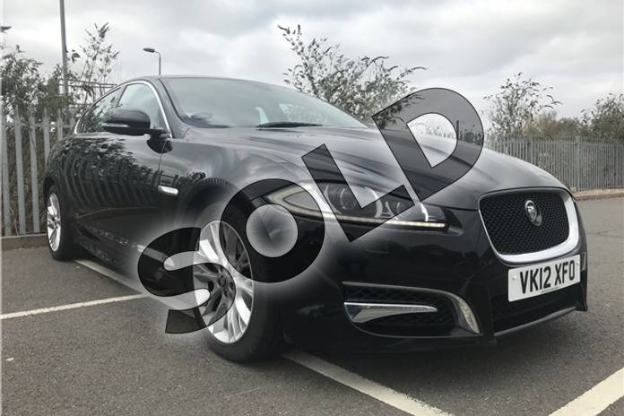 Picture of Jaguar XF 2.2d Sport 4dr Auto in Metallic - Ultimate black
