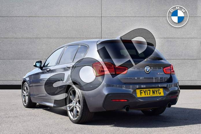 Image two of this 2017 BMW 1 Series Hatchback M140i 5dr (Nav) Step Auto in Mineral Grey at Listers Boston (BMW)