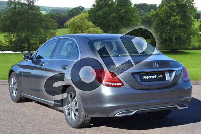 Image two of this 2018 Mercedes-Benz C Class Saloon C200 Sport 4dr 9G-Tronic in selenite grey metallic at Mercedes-Benz of Grimsby