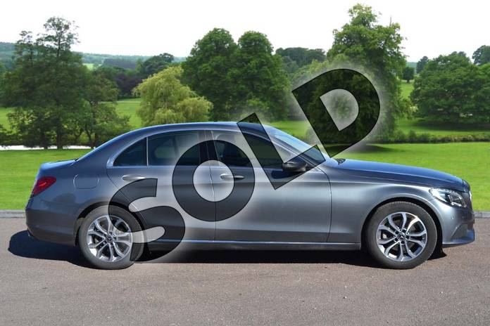 Image four of this 2018 Mercedes-Benz C Class Saloon C200 Sport 4dr 9G-Tronic in selenite grey metallic at Mercedes-Benz of Grimsby