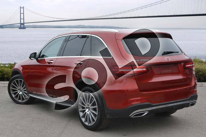 Image two of this 2017 Mercedes-Benz GLC Diesel Estate GLC 250d 4Matic AMG Line Premium 5dr 9G-Tronic in designo hyacinth red metallic at Mercedes-Benz of Hull