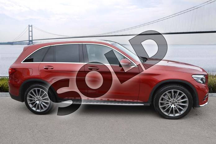 Image four of this 2017 Mercedes-Benz GLC Diesel Estate GLC 250d 4Matic AMG Line Premium 5dr 9G-Tronic in designo hyacinth red metallic at Mercedes-Benz of Hull