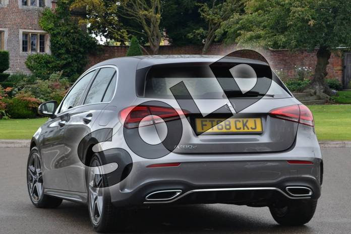 Image two of this 2018 Mercedes-Benz A Class Diesel Hatchback A180d AMG Line Executive 5dr Auto in Mountain Grey Metallic at Mercedes-Benz of Lincoln