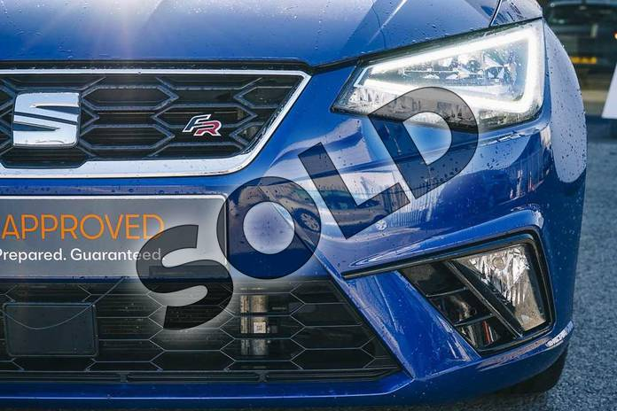 Image eight of this 2018 SEAT Ibiza Hatchback 1.0 TSI 115 FR 5dr in Blue at Listers SEAT Coventry