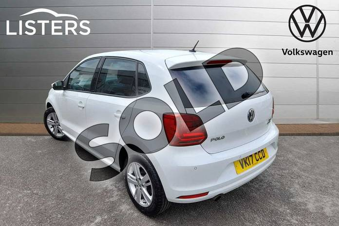 Image three of this 2017 Volkswagen Polo Hatchback 1.2 TSI Match Edition 5dr in Pure White at Listers Volkswagen Worcester
