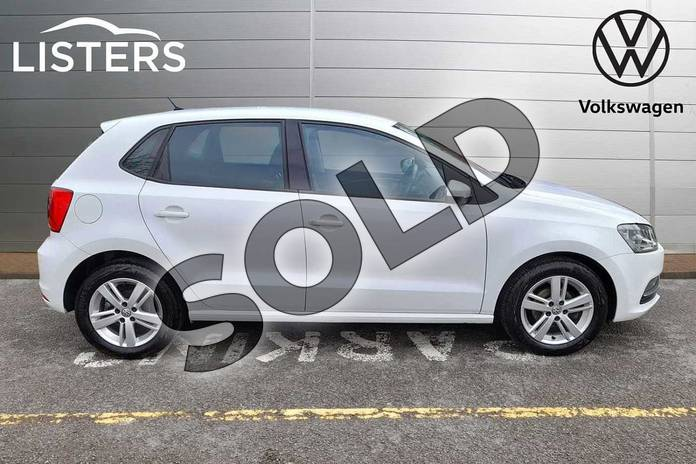 Image four of this 2017 Volkswagen Polo Hatchback 1.2 TSI Match Edition 5dr in Pure White at Listers Volkswagen Worcester