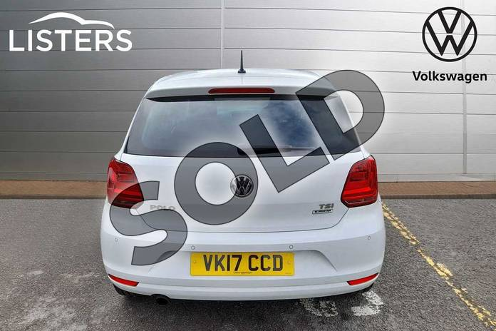 Image nine of this 2017 Volkswagen Polo Hatchback 1.2 TSI Match Edition 5dr in Pure White at Listers Volkswagen Worcester