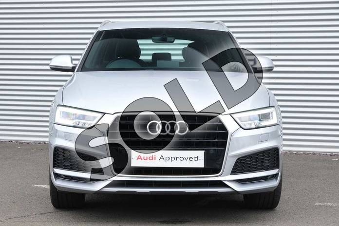 Image seven of this 2017 Audi Q3 Estate Special Editions 1.4T FSI S Line Edition 5dr in Floret Silver Metallic at Coventry Audi