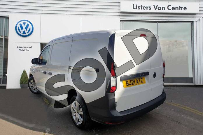 Image three of this 2021 Volkswagen Caddy Cargo Maxi C20 Diesel 2.0 TDI 102PS Commerce Van in White at Listers Volkswagen Van Centre Coventry