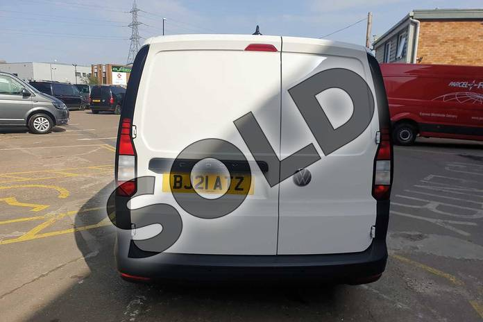 Image four of this 2021 Volkswagen Caddy Cargo Maxi C20 Diesel 2.0 TDI 102PS Commerce Van in White at Listers Volkswagen Van Centre Coventry