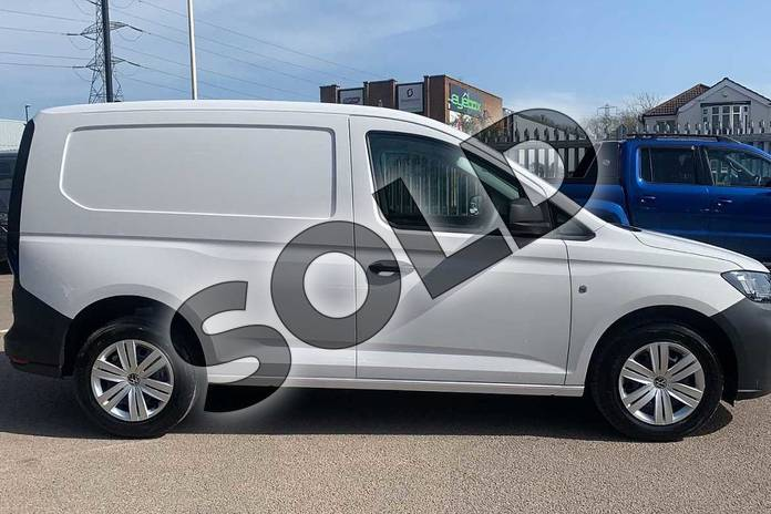Image six of this 2021 Volkswagen Caddy Cargo Maxi C20 Diesel 2.0 TDI 102PS Commerce Van in White at Listers Volkswagen Van Centre Coventry