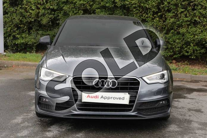 Image twelve of this 2016 Audi A3 Sportback 1.4 TFSI 125 S Line 5dr S Tronic (Nav) in Daytona Grey Pearlescent at Worcester Audi