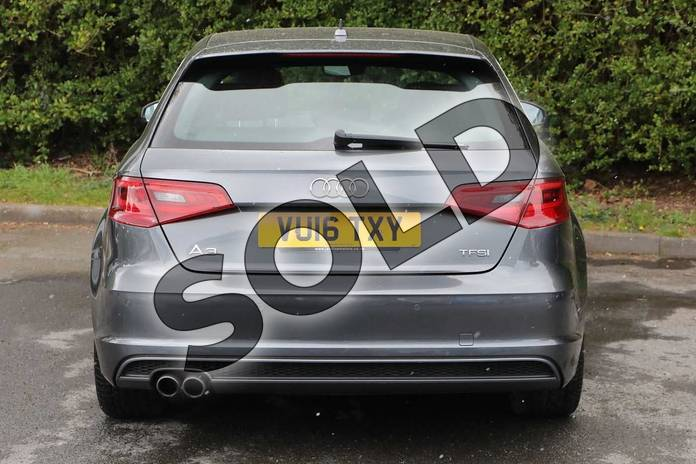 Image eighteen of this 2016 Audi A3 Sportback 1.4 TFSI 125 S Line 5dr S Tronic (Nav) in Daytona Grey Pearlescent at Worcester Audi