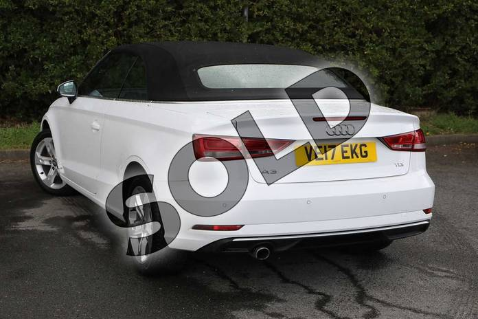 Image three of this 2017 Audi A3 Diesel Cabriolet 1.6 TDI Sport 2dr in Ibis White at Worcester Audi