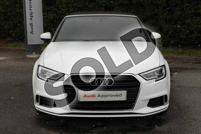 Image seven of this 2017 Audi A3 Diesel Cabriolet 1.6 TDI Sport 2dr in Ibis White at Worcester Audi