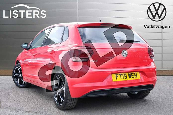 Image three of this 2019 Volkswagen Polo Hatchback 1.0 TSI 95 Beats 5dr in Flash Red at Listers Volkswagen Leamington Spa