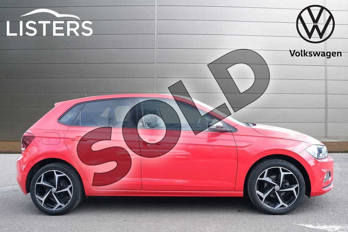 Image four of this 2019 Volkswagen Polo Hatchback 1.0 TSI 95 Beats 5dr in Flash Red at Listers Volkswagen Leamington Spa