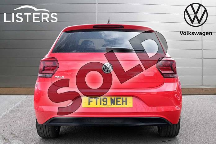Image seven of this 2019 Volkswagen Polo Hatchback 1.0 TSI 95 Beats 5dr in Flash Red at Listers Volkswagen Leamington Spa