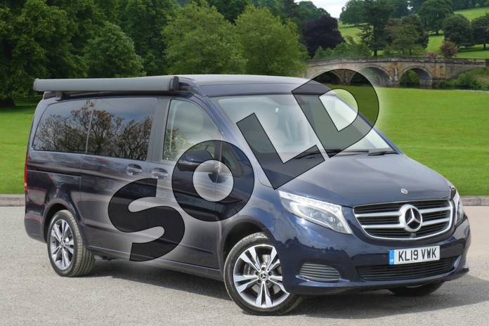 Picture of Mercedes-Benz V Class V220 d Marco Polo Sport 4dr Auto (Long) in cavansite blue metallic
