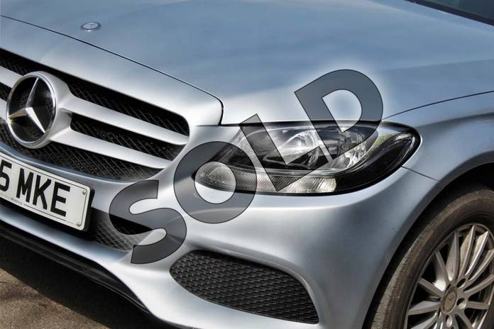Image ten of this 2015 Mercedes-Benz C Class Diesel Saloon C220 BlueTEC SE Executive 4dr Auto in Diamond Silver Metallic at Mercedes-Benz of Lincoln