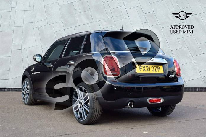 Image two of this 2021 MINI Hatchback 1.5 Cooper Exclusive II 5dr in Midnight Black at Listers Boston (MINI)