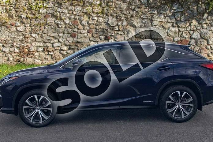 Image three of this 2018 Lexus RX 450h 3.5  4X4 Pan Roof  Luxury Panroof in Deep Blue at Lexus Coventry