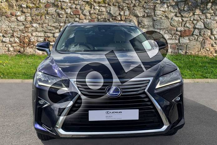 Image four of this 2018 Lexus RX 450h 3.5  4X4 Pan Roof  Luxury Panroof in Deep Blue at Lexus Coventry