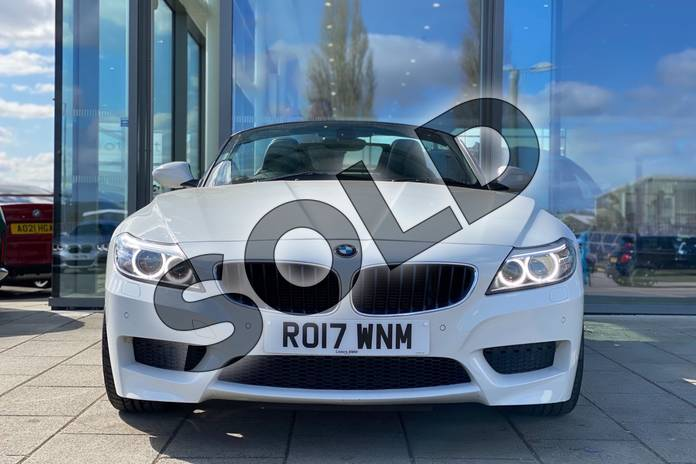 Image three of this 2017 BMW Z4 Series Z4 sDrive20i M Sport Roadster in Alpine White at Listers King's Lynn (BMW)