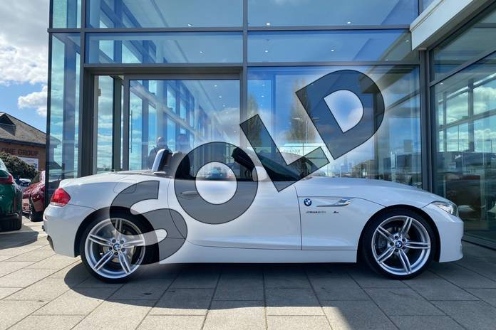 Image five of this 2017 BMW Z4 Series Z4 sDrive20i M Sport Roadster in Alpine White at Listers King's Lynn (BMW)