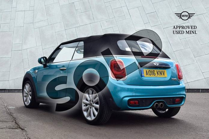 Image two of this 2016 MINI Convertible Cooper S  in Caribbean Aqua at Listers Boston (MINI)