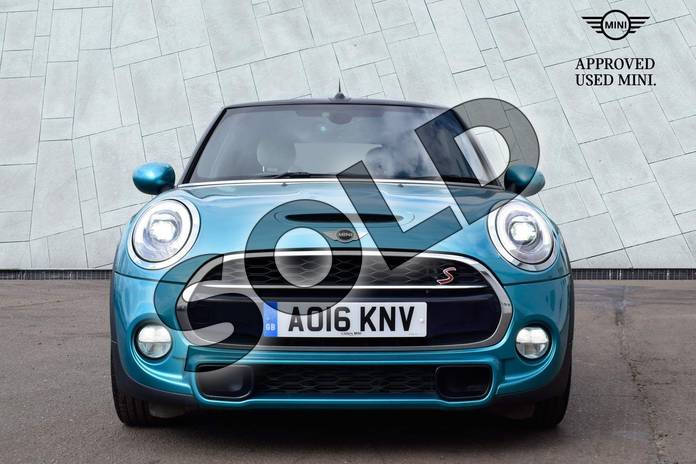 Image sixteen of this 2016 MINI Convertible Cooper S  in Caribbean Aqua at Listers Boston (MINI)