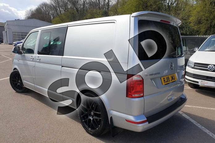 Image three of this 2019 Volkswagen Transporter T32 LWB Diesel 2.0 TDI BMT 150 Highline Kombi Van in Reflex silver at Listers Volkswagen Van Centre Coventry