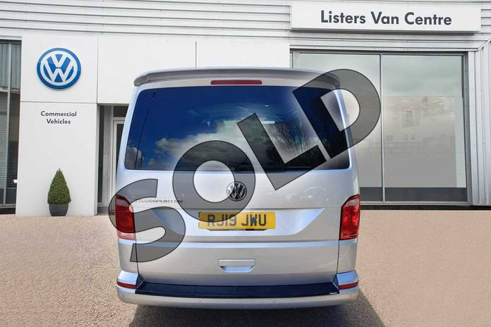 Image four of this 2019 Volkswagen Transporter T32 LWB Diesel 2.0 TDI BMT 150 Highline Kombi Van in Reflex silver at Listers Volkswagen Van Centre Coventry