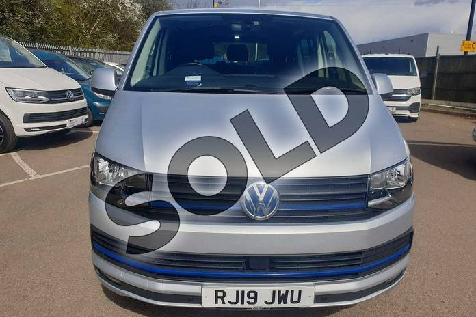Image six of this 2019 Volkswagen Transporter T32 LWB Diesel 2.0 TDI BMT 150 Highline Kombi Van in Reflex silver at Listers Volkswagen Van Centre Coventry