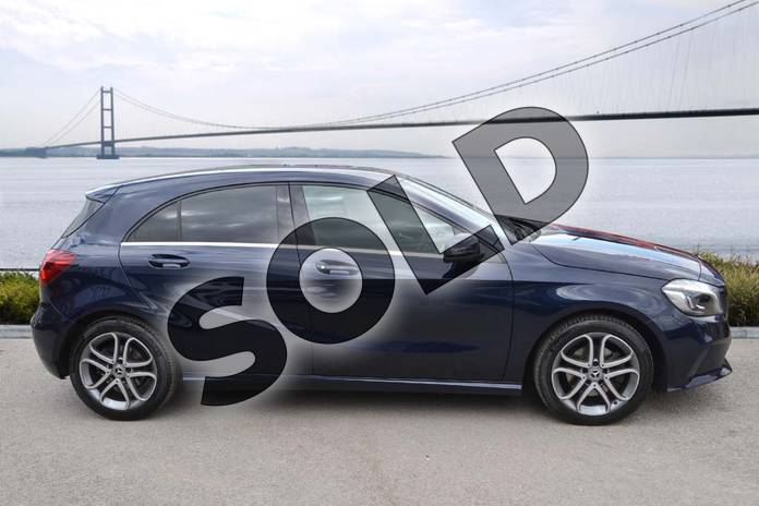 Image four of this 2018 Mercedes-Benz A Class Hatchback A180 Sport Edition 5dr in Cavansite Blue metallic at Mercedes-Benz of Hull