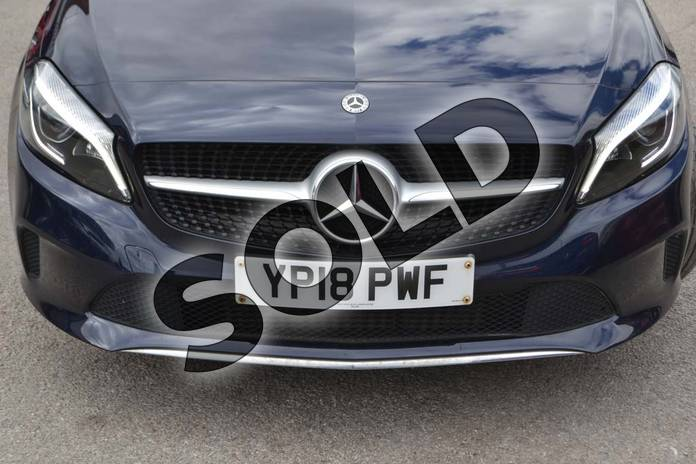Image ten of this 2018 Mercedes-Benz A Class Hatchback A180 Sport Edition 5dr in Cavansite Blue metallic at Mercedes-Benz of Hull