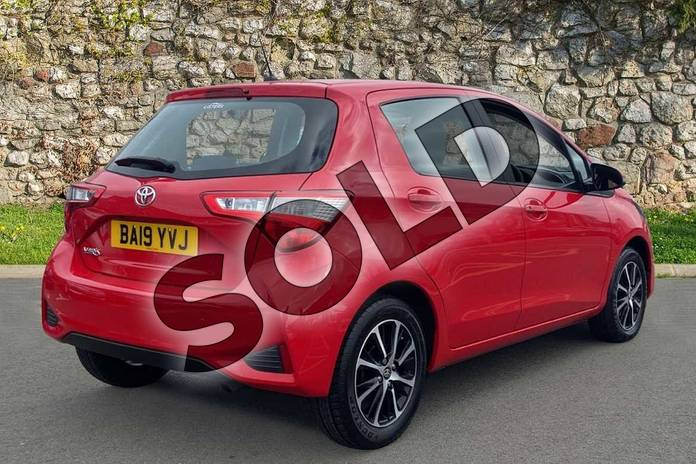 Image two of this 2019 Toyota Yaris Hatchback 1.5 VVT-i Icon Tech 5dr in Chilli Red at Listers Toyota Coventry