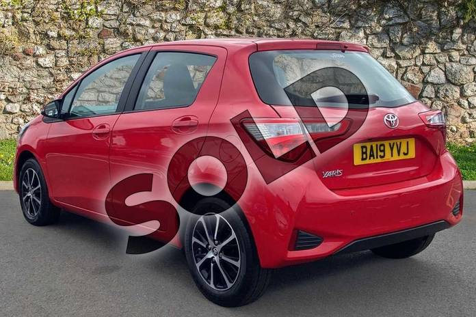 Image four of this 2019 Toyota Yaris Hatchback 1.5 VVT-i Icon Tech 5dr in Chilli Red at Listers Toyota Coventry