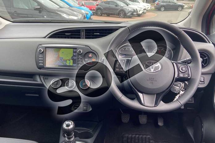 Image five of this 2019 Toyota Yaris Hatchback 1.5 VVT-i Icon Tech 5dr in Chilli Red at Listers Toyota Coventry