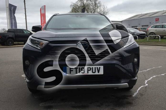 Image fifteen of this 2019 Toyota RAV4 Estate 2.5 VVT-i Hybrid Dynamic 5dr CVT 2WD in Obsidian Blue at Listers Toyota Lincoln