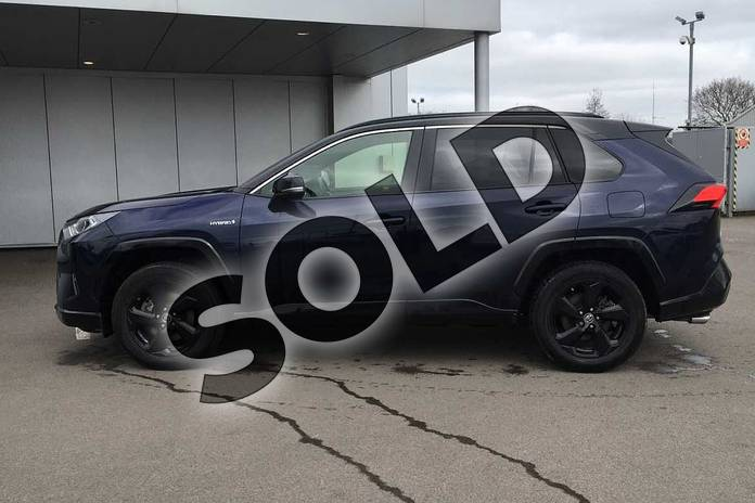 Image seventeen of this 2019 Toyota RAV4 Estate 2.5 VVT-i Hybrid Dynamic 5dr CVT 2WD in Obsidian Blue at Listers Toyota Lincoln
