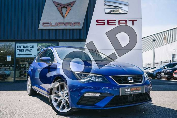 Picture of SEAT Leon 1.4 TSI 125 FR Technology 5dr in Blue