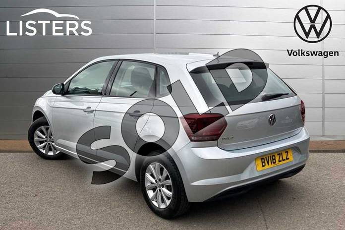 Image three of this 2018 Volkswagen Polo Hatchback 1.0 TSI 95 SE 5dr in Reflex silver at Listers Volkswagen Coventry