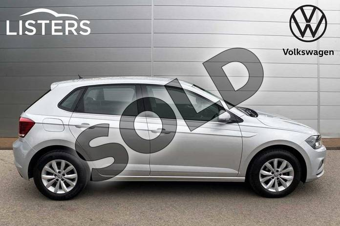 Image four of this 2018 Volkswagen Polo Hatchback 1.0 TSI 95 SE 5dr in Reflex silver at Listers Volkswagen Coventry